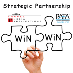 PATA Thailand Chapter cooperates with Travel Media Applications